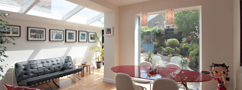 Conservatory decorated by Heaton Decorators